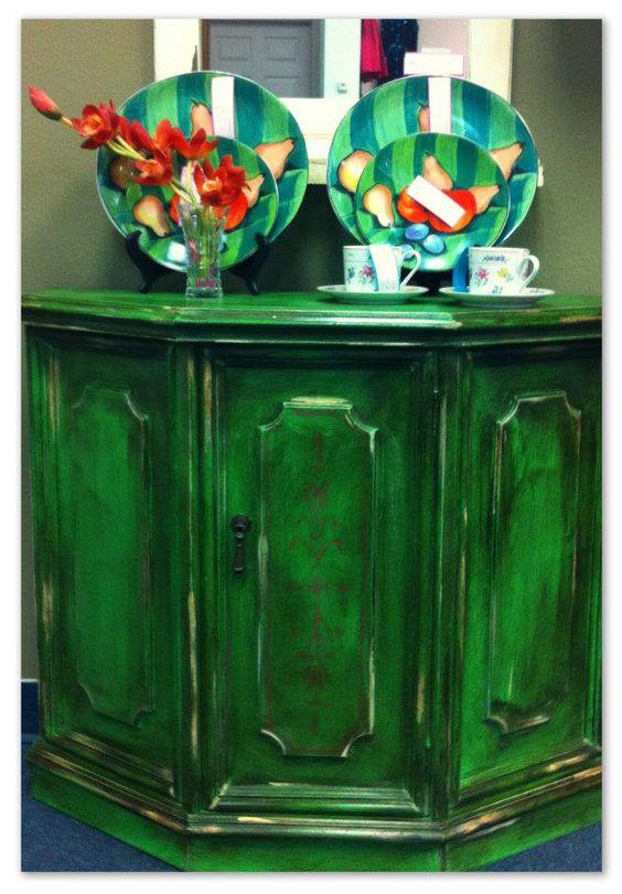 Annie Sloan Chalk Painted Furniture