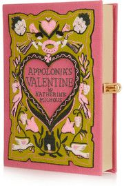 Olympia Le-TanAppolonia's Valentine embroidered clutch