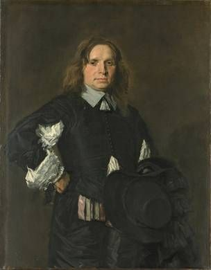 A Man, ca. early 1650's (Frans Hals) (1583-1666)   The Metropolitan Museum of Art, New York, NY      91.26.9