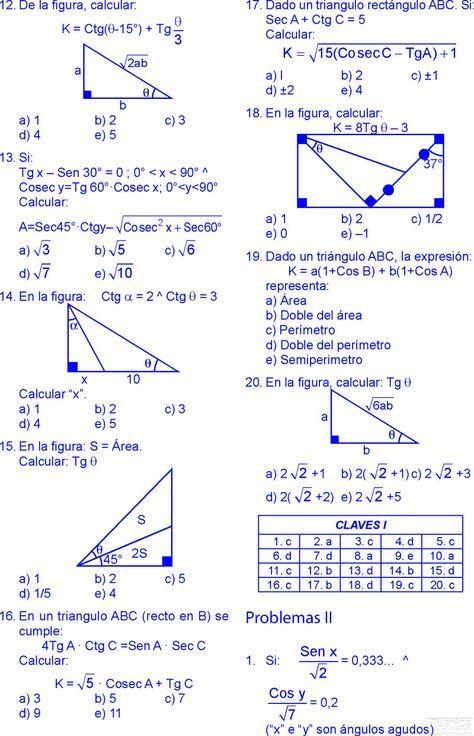 Pin En Razones Trigonometricas