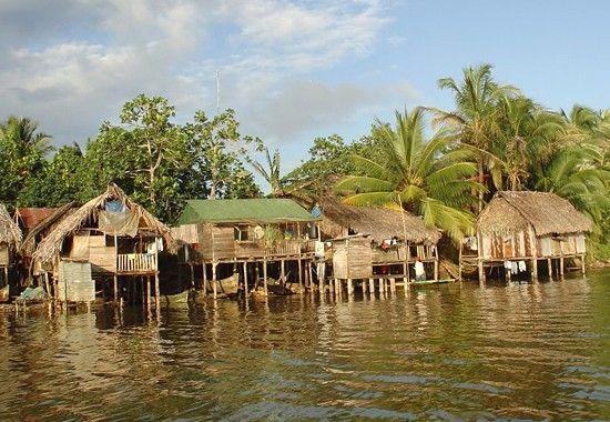 Bahía de Bluefields, Nicaragua.