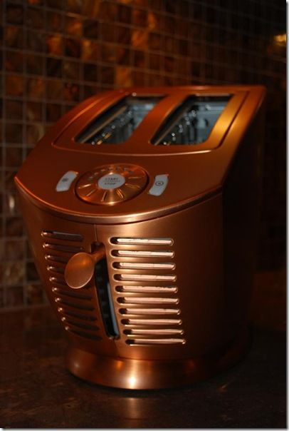 The Uber Sexy Jenn Air Attrezzi Toaster In Brushed Copper