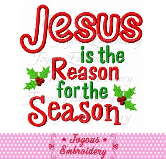 Instant Download Christmas Jesus Is The Reason