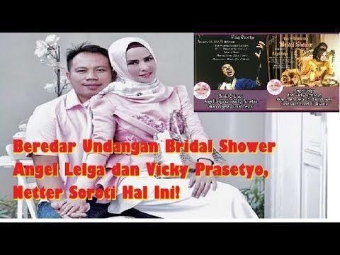 Beredar Undangan Bridal Shower Angel Lelga Dan Vicky Prasetyo