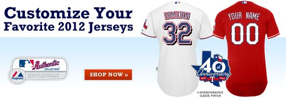 Customize your favorite 2012 jerseys.  $85.80 for one Custom MLB,NBA,NFL jersey with shipping. Website:http://www.cheapnfljerseyshut.com  Email:  tonfljerseysshop@hotmail.com or cherry@ec8j.com