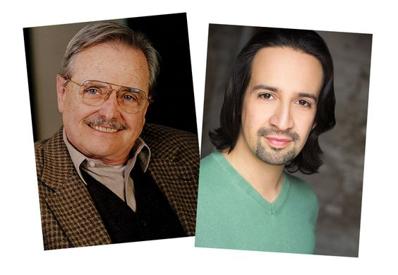 Awesome interview with William Daniels and Lin-Manuel Miranda on historical musical theater, 1776, Hamilton, and awesomeness