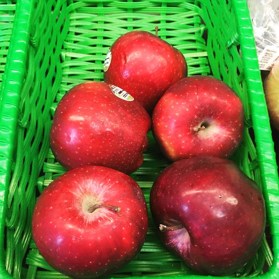 The health benefits of apples include improved digestion, prevention of stomach disorders, gallstones, constipation, liver disorders, anemia, diabetes, heart disease, rheumatism, eye disorders, a variety of cancers, and gout.