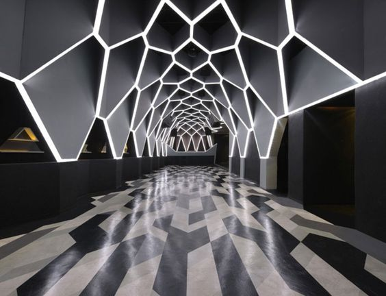 Should have designed the lobby to my grad project with this ceiling.. in love