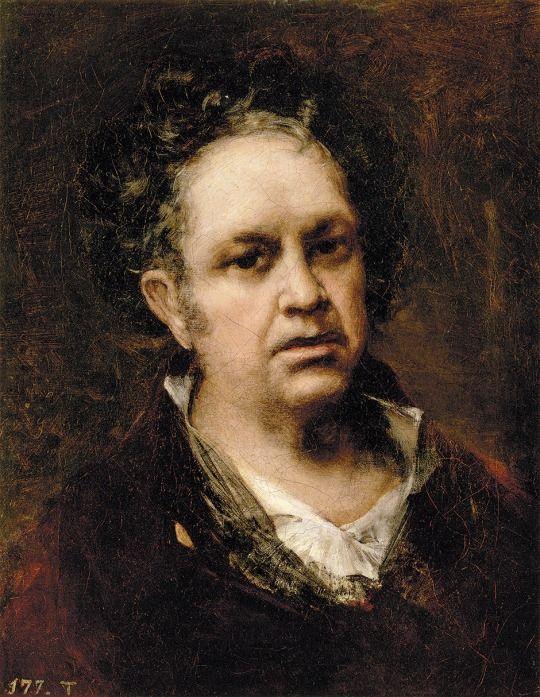 Francisco de Goya, Autorretrato, 1815