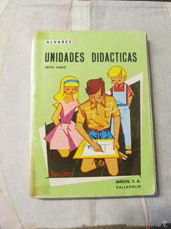 M69 ANTIGUO LIBRO DE TEXTO 6º CURSO NATURALES ED. ALVAREZ EDITORIAL MIÑON 1967 REF 2 (Libros de Segunda Mano - Libros de Texto )