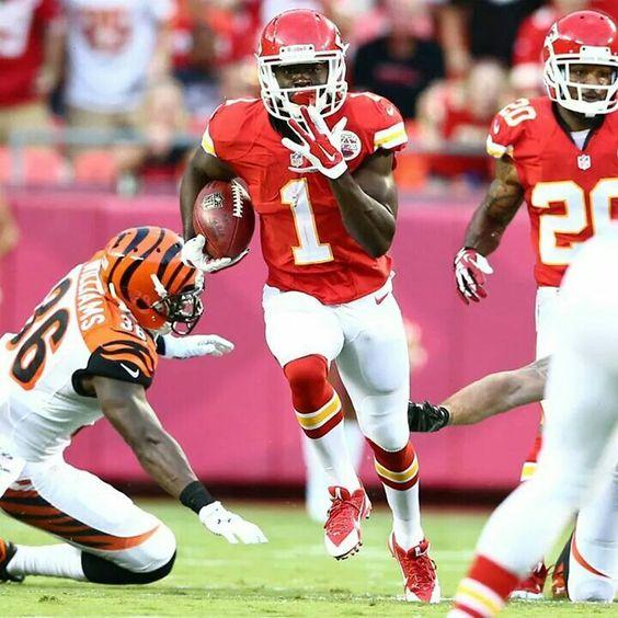 Kansas City Chiefs rookie De'Anthony Thomas. Awesome touchdown ...