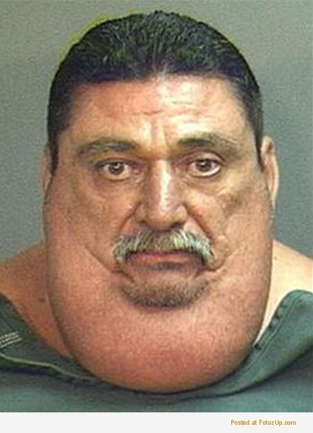 People With No Neck Stupid mugshoots ... with lot of funny weird ...