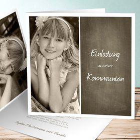 Einladungskarten Kommunion   Einfach Aus Unseren Vorlagen Im  Kartenkonfigurator Online Selbst Gestalten Und Drucken Lassen. Keine  Software Nötig.