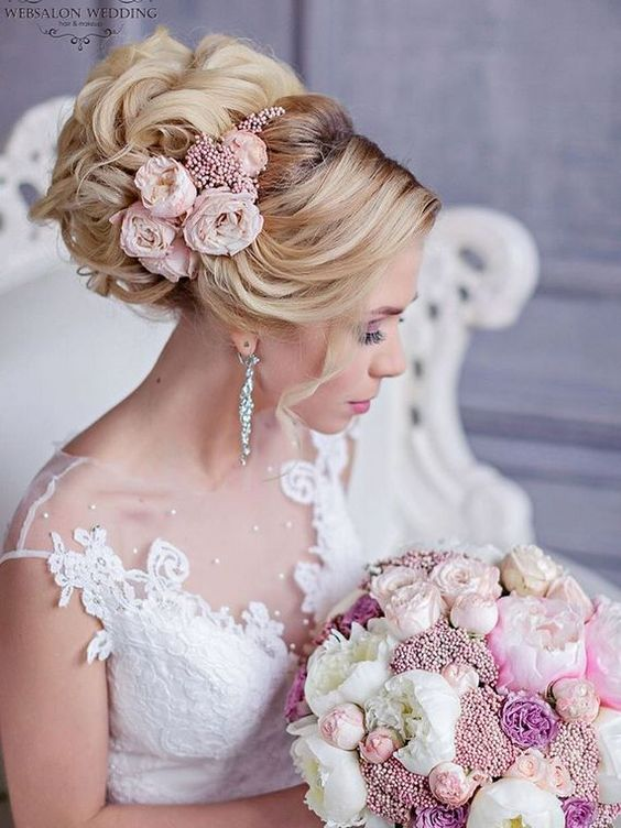 Long wedding hairstyles and wedding updos from Websalon Weddings / http://www.deerpearlflowers.com/websalon-weddings-wedding-hairstyles-and-updos/4/