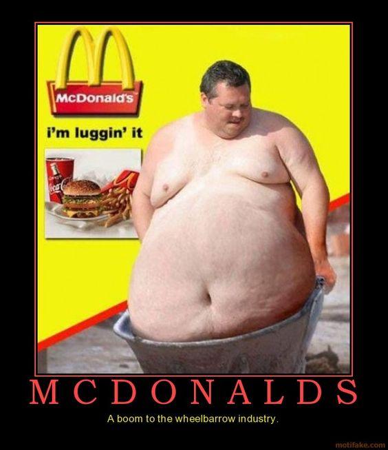 Fat Guy At Mcdonalds 55