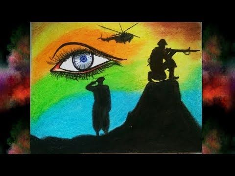 Salute To Indian Army Airforce Independence Day Drawing By Mohi S Art Creation Youtube In 2020 Army Drawing Independence Day Drawing Drawings