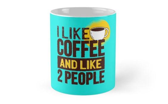 Good gifts for coffee lovers: Fun Coffee mug