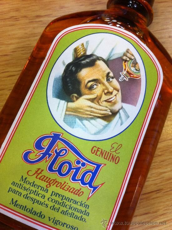 floid masaje de afeitar.el que usaba mi padre.