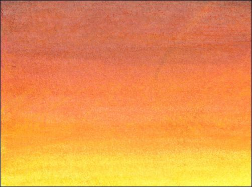 How To Draw A Sunset Sky With Watercolor Pencils Drawing Sunset
