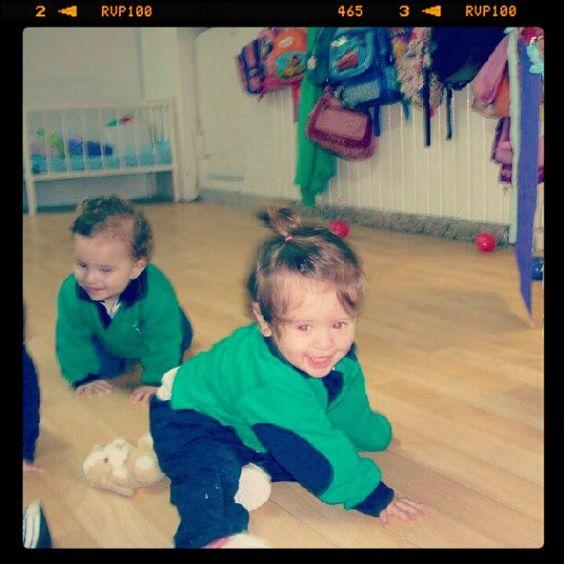 De visita en el jardín de infantes. - @luquitasok- #webstagram
