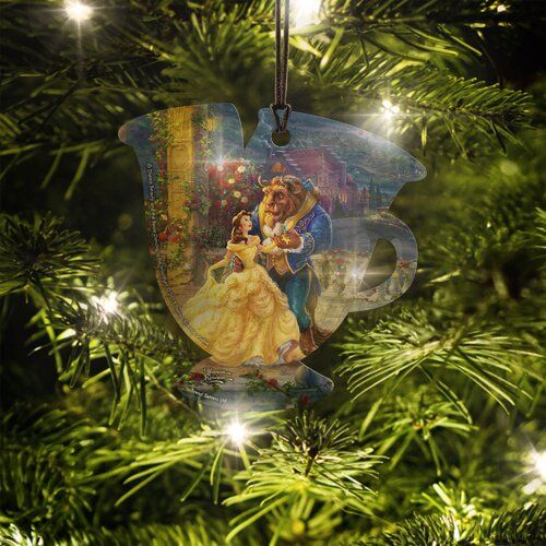 Disney Christmas Special 2021 Reviews Disney Thomas Kinkade Artwork Little Mermaid Stained Glass Holiday Shaped Ornament In 2021 Disney Christmas Decorations Outdoor Christmas Decorations Clearance Outdoor Christmas Decorations