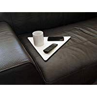 Wooden Slinky Couch Table For Armrest