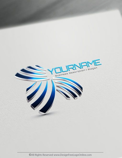 Create Your Own Abstract 3d Logo With Free Logo Design Templates Logo Design Template Logo Design Free Templates Logo Design Free