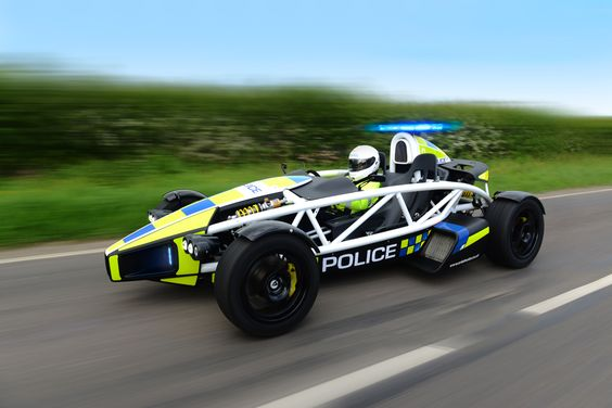 Nice. 'This Is The Ariel Atom Police Car And It's Insane'