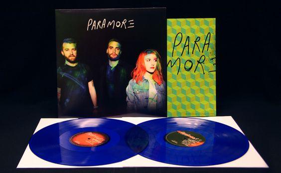 Paramore s/t 2x LP Transparent Blue Vinyl