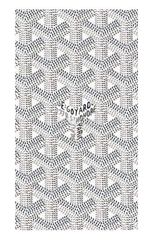 White Goyard Inspire Hype Wallpaper Hypebeast Wallpaper Goyard Pattern