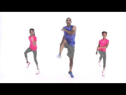Kids workout video - YouTube - sometimes it is just impossible to get through rainy days without a bit of action:)