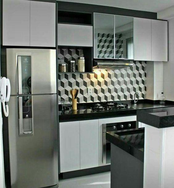 cocinas con poco espacio, Ideas de decoración de cocinas ...