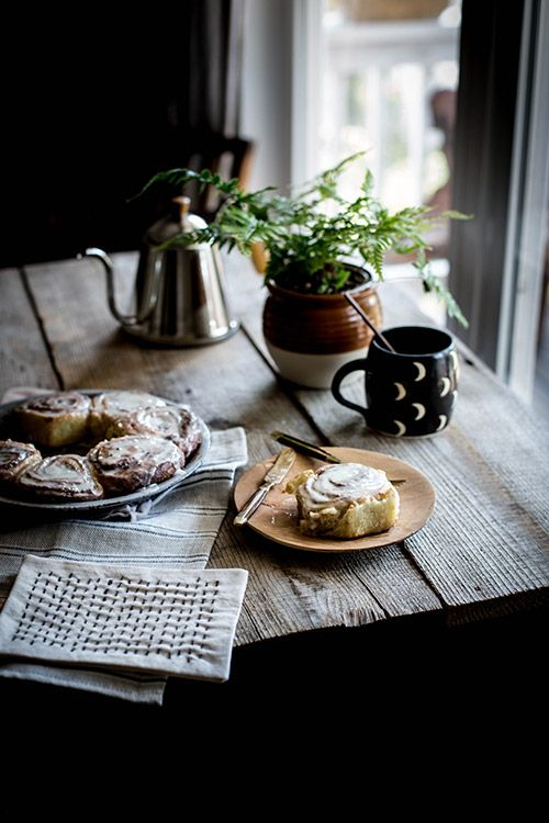See more of the modern farmhouse kitchen where Beth Kirby of Local Milk whips up decadent treats like these cinnamon rolls.