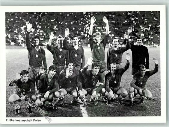 La Seleccion de futbol de Polonia campeona en Munich 1972 #poland #polonia #polska