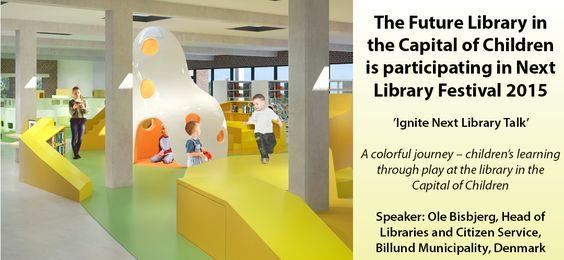 Billede forside - vi deltager i Next Library Festival