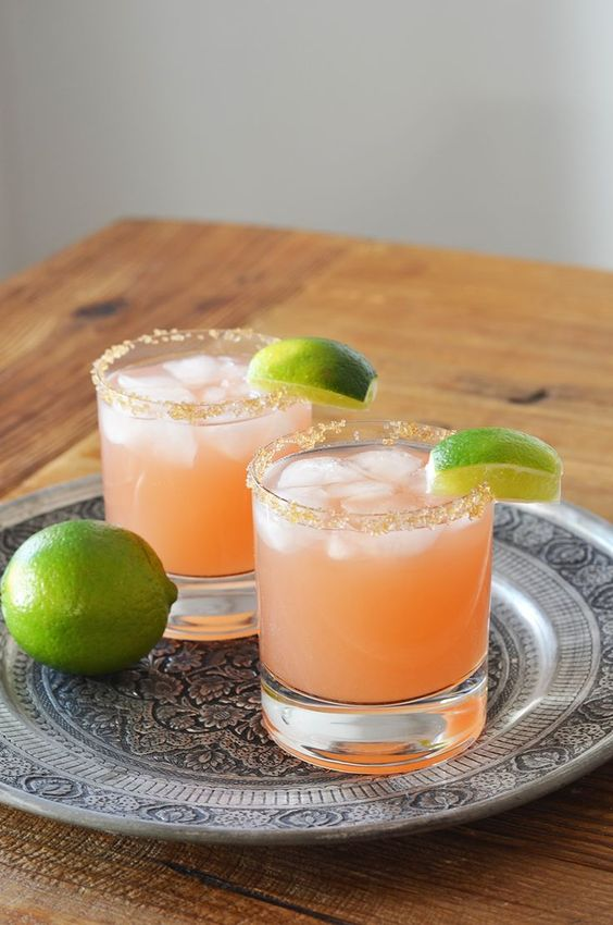 It's National Margarita Day - celebrate with a pink grapefruit margarita!