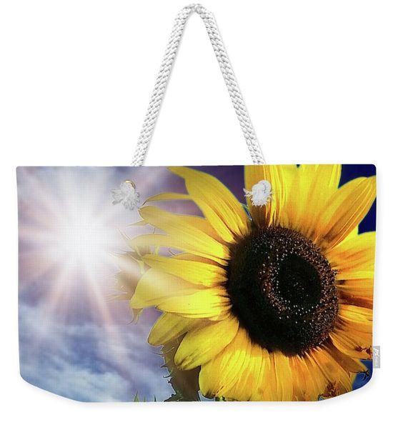 Shine Bright Weekender Tote bag