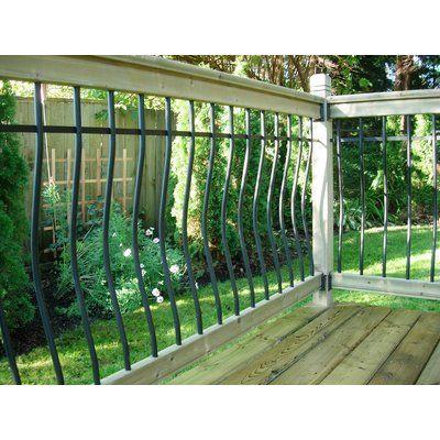 Vista Railing Systems Inc 6 Ft W Traditional Cedar Straight Deck