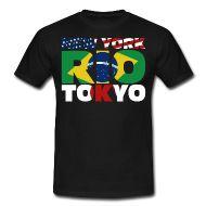 New York, Rio, Tokyo, die drei großen Metropolen von Amerika, Brasilien und Japan.