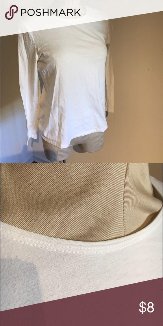 ☀️CLOSET CLEAN OUT!☀️Long sleeve shirt 👚 Super cozy long sleeve shirt! Christopher & Banks Tops Tees - Long Sleeve