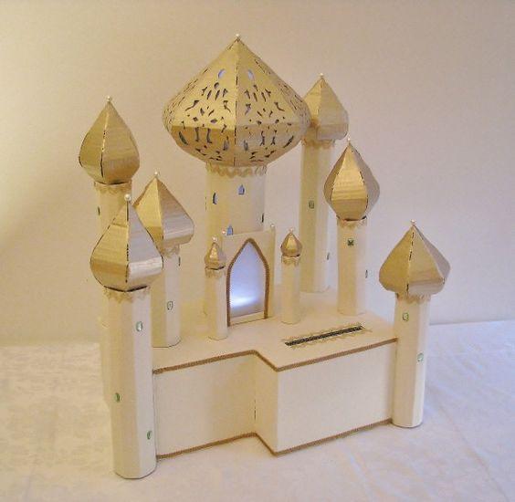 de mariage thème Mille et une nuit, ivoire et or 4  Cagnotte mariage ...