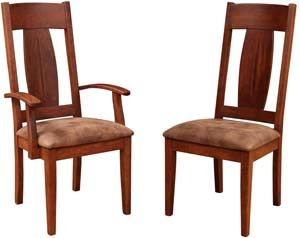 Amish Outlet Store : Appalachia Chair in Oak