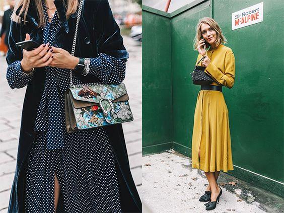 Prendas de la temporada: vestido manga larga