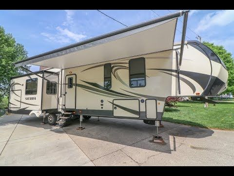 2018 Forest River Sierra 372lok Bunkhouse 5th Wheel For Sale By