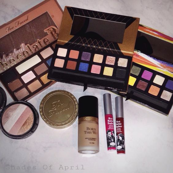 Some beauty favorites. #makeup #toofaced #anastasiabeverlyhills #thebalm