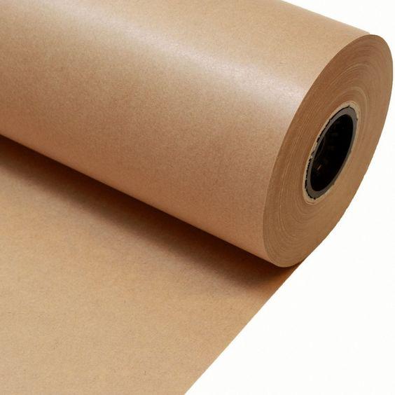 Rollo papel kraft para envolver regalos papel kraft para for Papel de pared precio