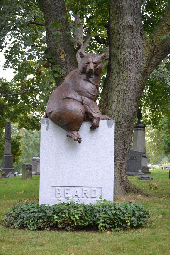 Favorite head stone in Greenwood Cemetery