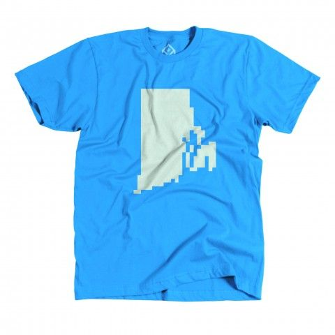 RhodeIsland 622U Teal100C 2048x2048 480x480 Pixelated US state tees by Pixelivery