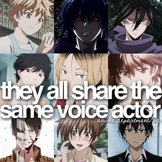 Anime Characters That Start With C : Voice actor bullets and spring on pinterest