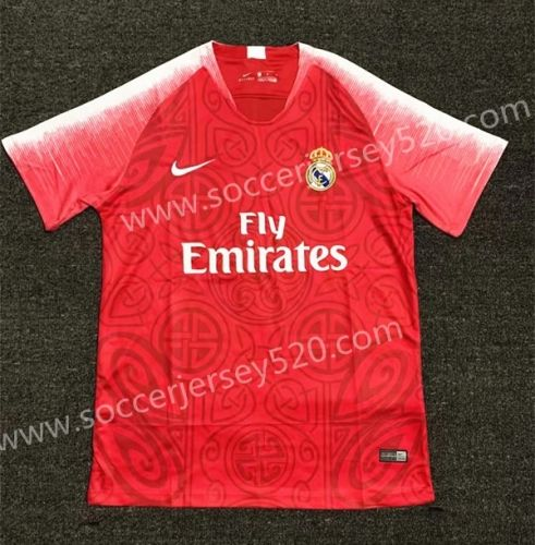 Limited Edition 2018 19 Real Madrid Red Thailand Soccer Jersey Aaa 407 Soccer Jersey Real Madrid Football Club Real Madrid Football